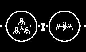Conexões centralizadas x Conexões em rede