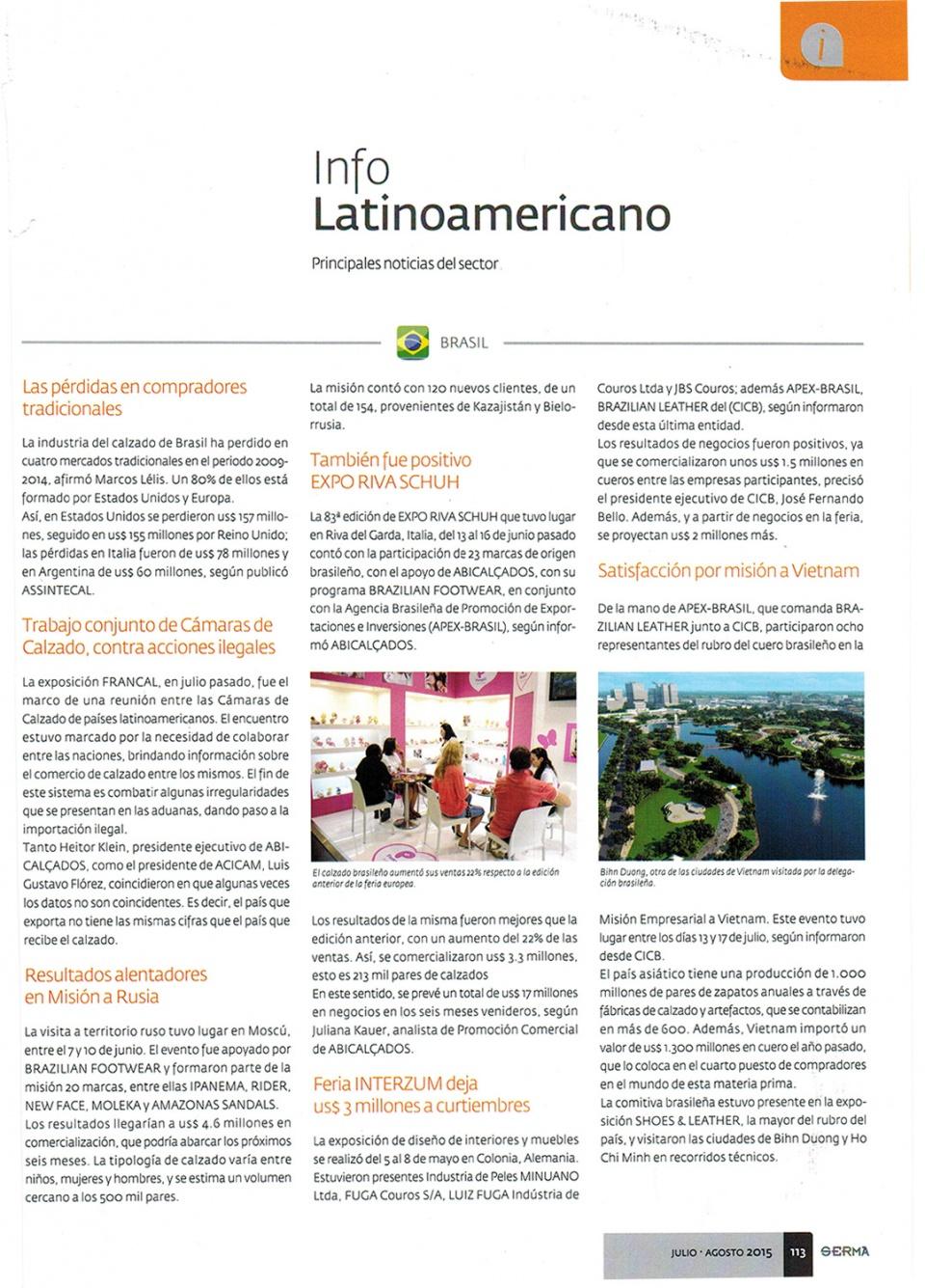 Revista Serma - Argentina