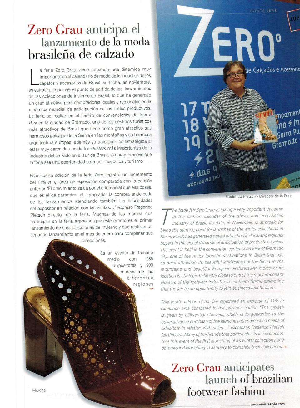 Revista Style America - COLÔMBIA