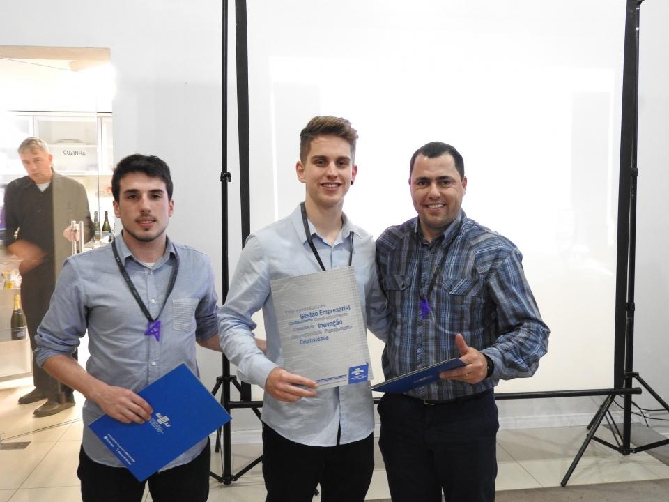 Equipe EVmas - premiados 3º lugar
