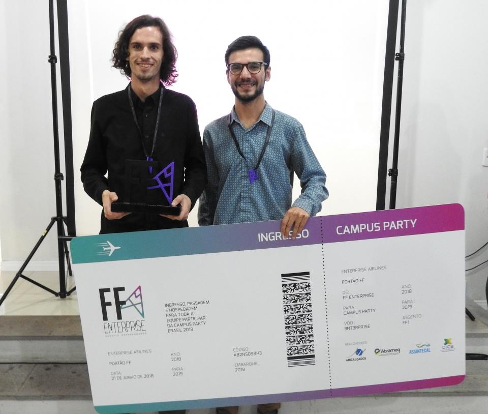 Equipe FreeForm - premiados 1º lugar