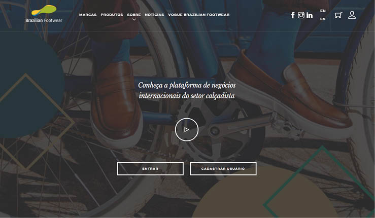 Plataforma on-line do Brazilian Footwear chega a 1,8 mil compradores