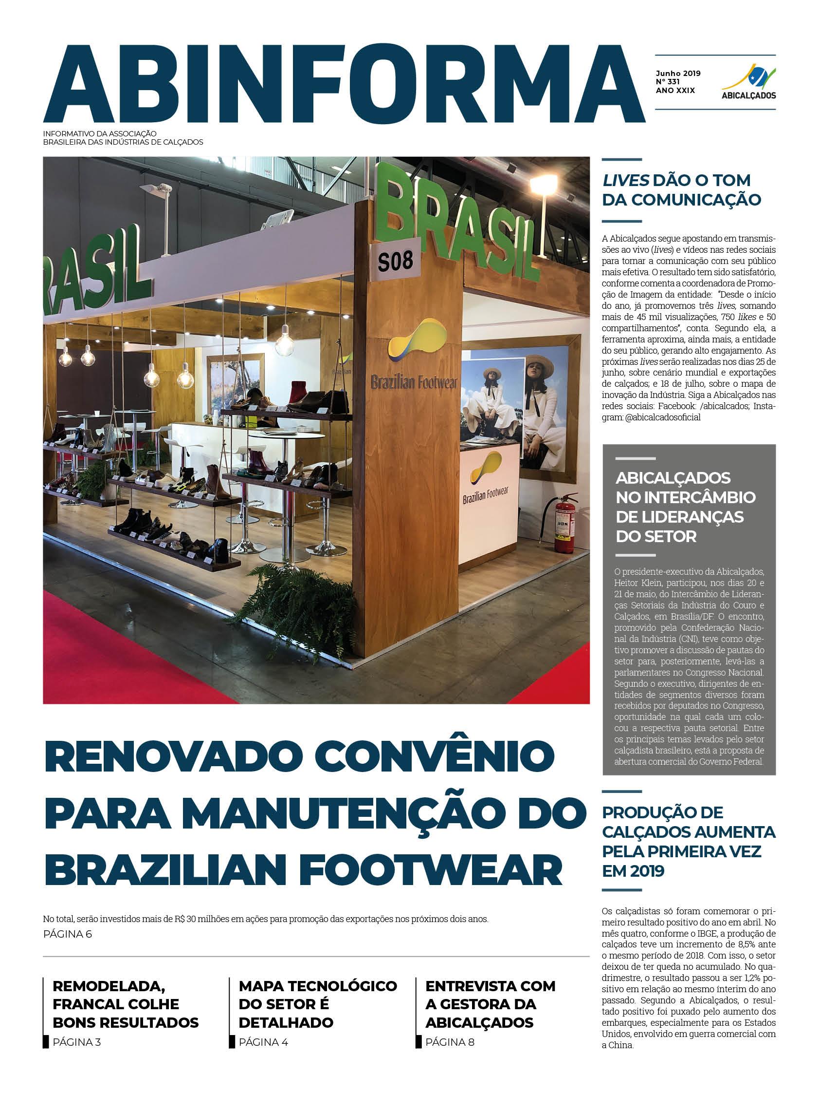 98122198a Abicalçados - Associação Brasileira das Indústrias de Calçados