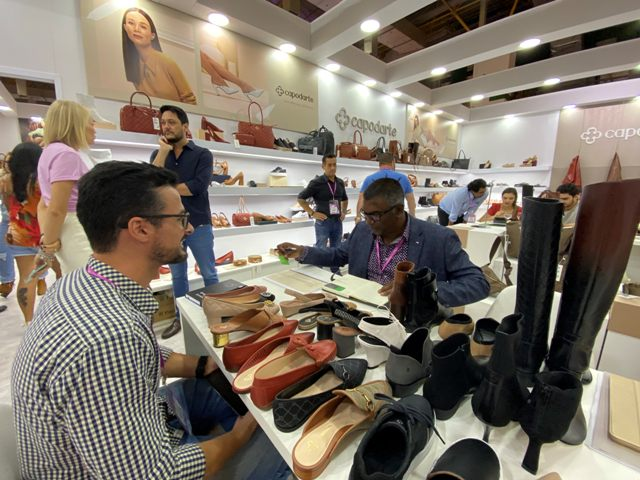 South African buyer participates in Couromoda